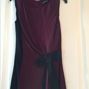 Red wine colored dress size US 4